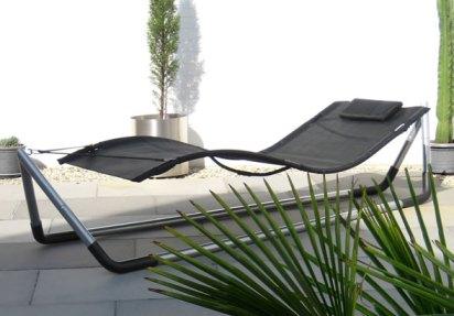 Sonnenbetten und -liegen sowie Hängematten