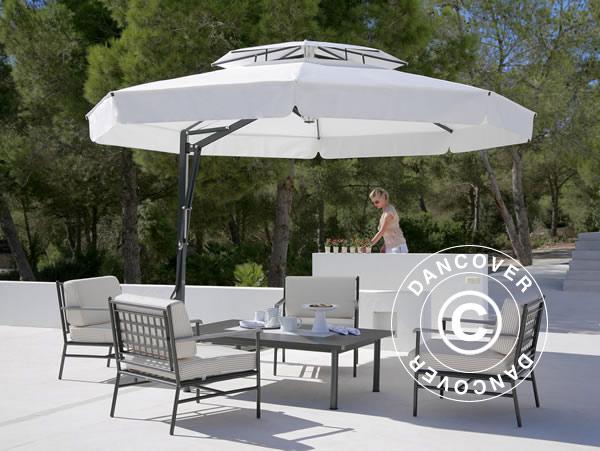 Sonnenschirme bieten Schatten und einen Hauch von Klasse