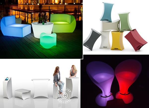 Stilvolle Möbel für Ihre nächste Veranstaltung
