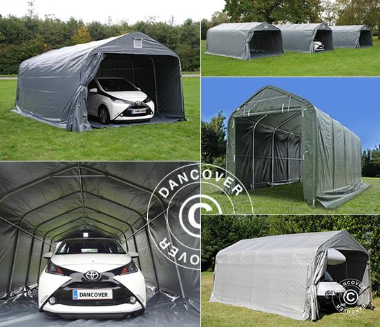 Transportierbare Garagen für die leichte Lagerung