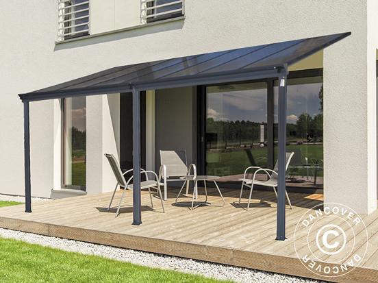 Mit einer Terrassenüberdachung können Sie noch mehr Zeit auf der Terrasse verbringen