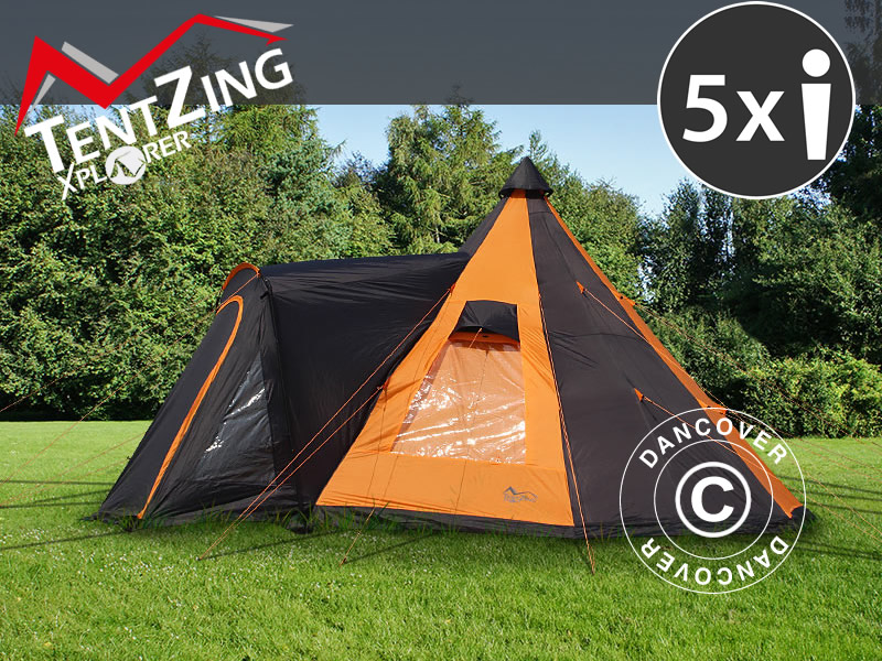 Campingzelte von TentZing® Xplorer – großartige Funktionalität, Design und Komfort